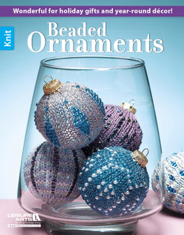 Leisure Arts Beaded Ornaments Knit Book
