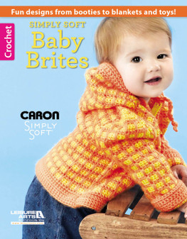 Leisure Arts Simply Soft Baby Brites Crochet Book