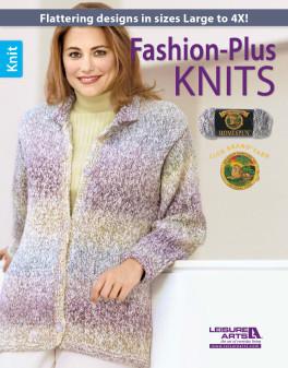 Leisure Arts Fashion-Plus Knits Book