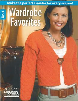 Leisure Arts Wardrobe Favorites Knit Book