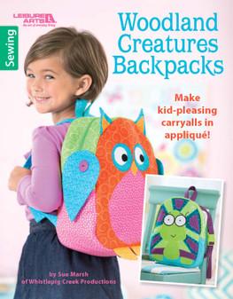 Leisure Arts Woodland Creatures Backpacks Book