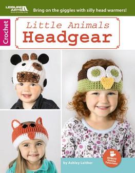 Leisure Arts Crochet Little Animals Headgear Book