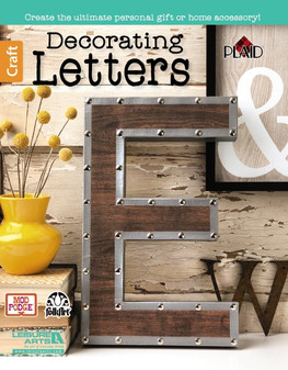 Leisure Arts Decorating Letters Book