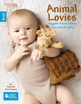 Leisure Arts Animal Lovies Book