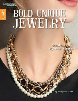 Leisure Arts Bold Unique Jewelry Book