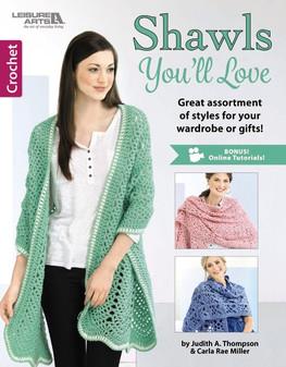 Leisure Arts Crochet Shawls You'll Love Book