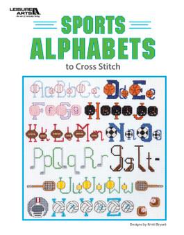 Leisure Arts Sports Alphabets to Cross Stitch Book