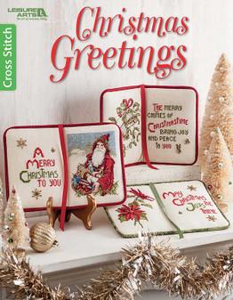 Leisure Arts Christmas Greetings Book