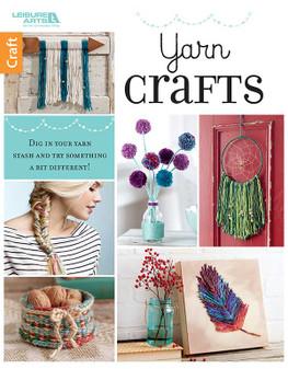 Leisure Arts Yarn Crafts Book
