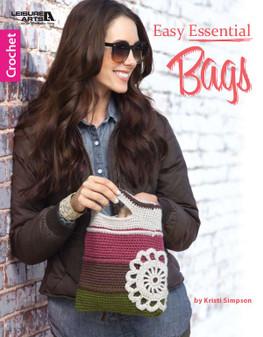 Leisure Arts Easy Essential Bags Crochet Book