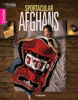 Leisure Arts Sportacular Afghans Crochet Book