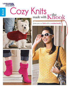 Leisure Arts Cozy Knits Made With The Knook Book