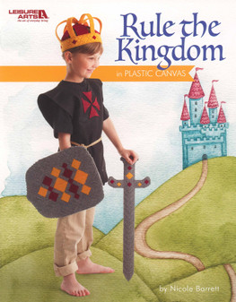 Rule The Kingdom In Plastic Canvas Book