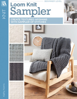 Leisure Arts Loom Knit Samplers Book