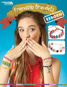 Leisure Arts Friendship Bracelets Reborn Book