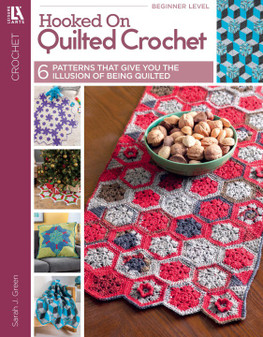 Leisure Arts Hooked On Quilted Crochet Book