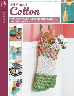 Leisure Arts All About Cotton Book