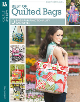 Leisure Arts Best Of Quilted Bags Book
