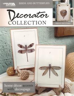 Leisure Arts  Decorator Collection Birds & Butterflies Book