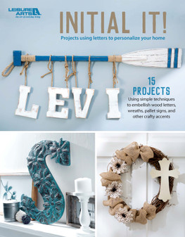 Leisure Arts Initial It! Book