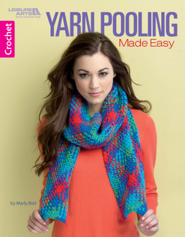 Leisure Arts Yarn Pooling Made Easy Crochet Book