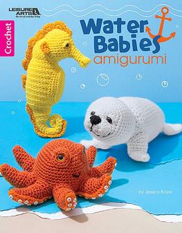 Leisure Arts Water Babies Amigurumi Crochet Book