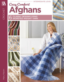 Leisure Arts Cozy Comfort Afghans Crochet Book