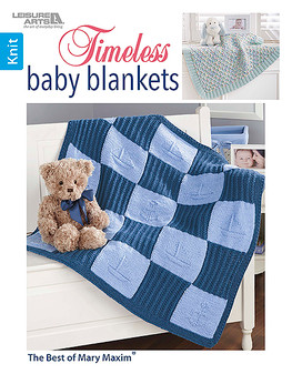 Leisure Arts Timeless Baby Blankets Book