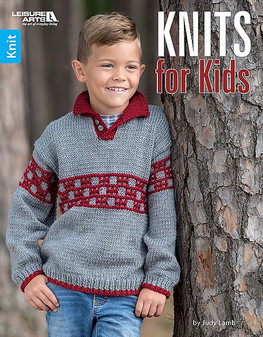 Leisure Arts Knits For Kids Book