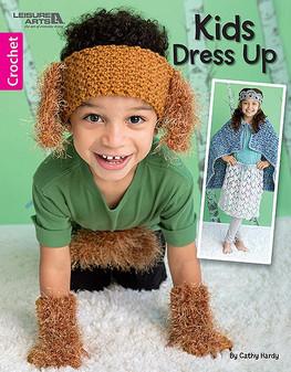 Leisure Arts Kids Dress Up Crochet Book