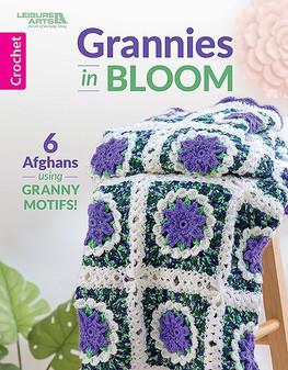 Leisure Arts Grannies In Bloom Book