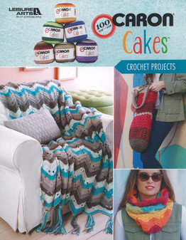 Leisure Arts Caron Cakes Crochet Projects Book
