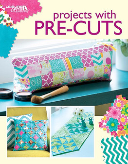 Leisure Arts Projects with Pre-Cuts Book