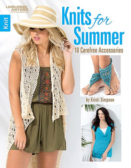 Leisure Arts Knits For Summer Book