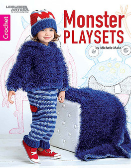 Leisure Arts Monster Play Sets Crochet Book