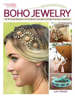 Leisure Arts Boho Jewelry Book