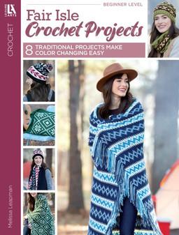 Leisure Arts Fair Isle Crochet Book