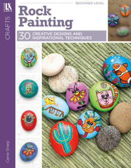 Leisure Arts Rock Painting Book