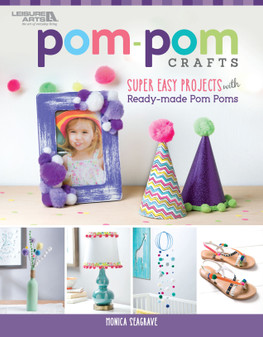 Leisure Arts Pom Pom Crafts Book