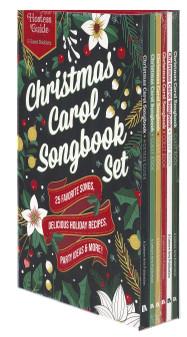 Leisure Arts Christmas Carol Songbook Set 6pc