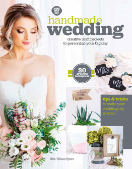 Leisure Arts Make Your Day Handmade Wedding Book