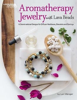 Leisure Arts Aromatherapy Jewelry With Lava Beads Book