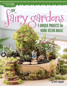 Leisure Arts DIY Fairy Gardens Book