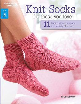 Leisure Arts Knit Socks For Those You Love Book