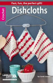 Leisure Arts Dishcloths Crochet Bk