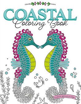 Leisure Arts Coastal Coloring Book
