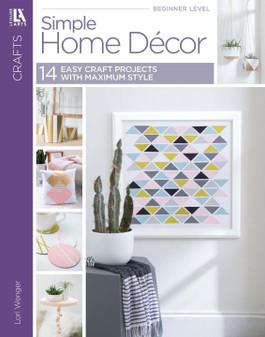 Leisure Arts Simple Home Decor Book
