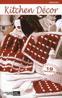 Leisure Arts Crochet Kitchen Decor Book