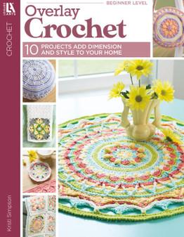 Leisure Arts Overlay Crochet Book
