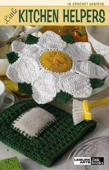 Leisure Arts Little Kitchen Helpers Crochet Book
